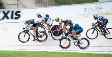 Keirin Bike Racers